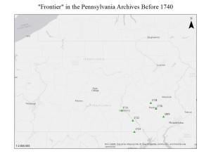 Pennsylvania pre-1740